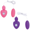 USB rechargeable rotor Pink&Purple